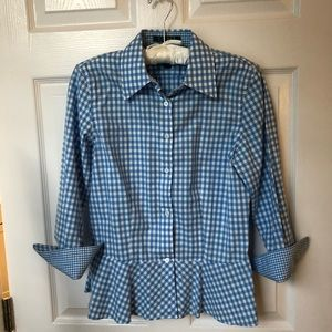Ralph Lauren gingham blouse